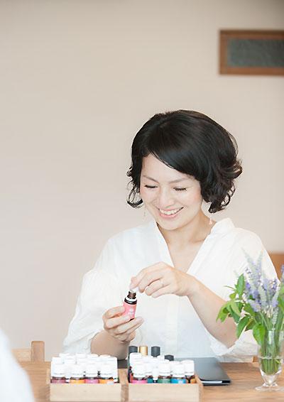 アロマエンライトメント®・認定ティーチャーインタビューの画像
